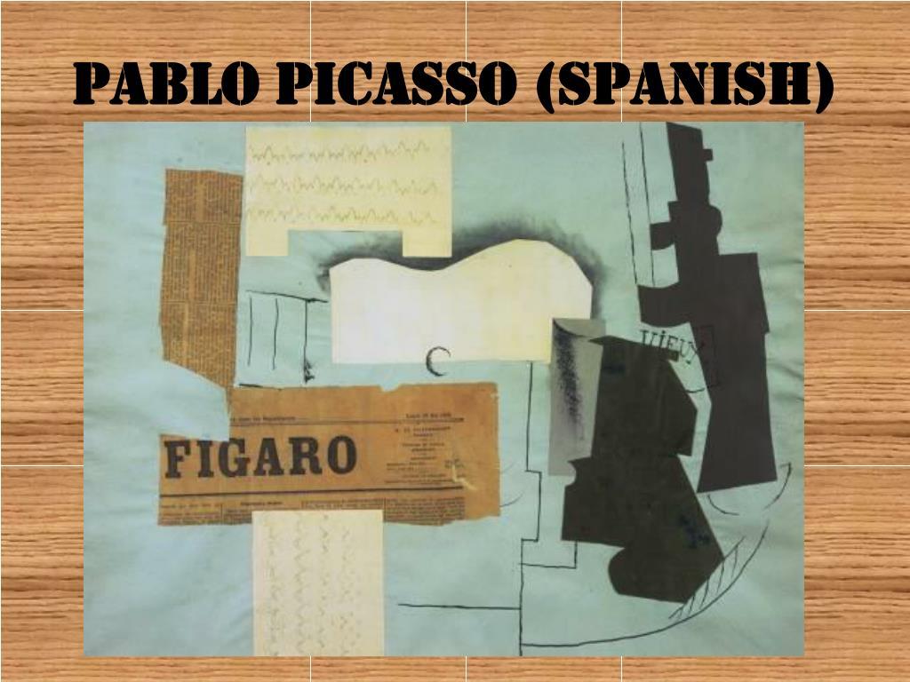 Pablo Picasso (Spanish)