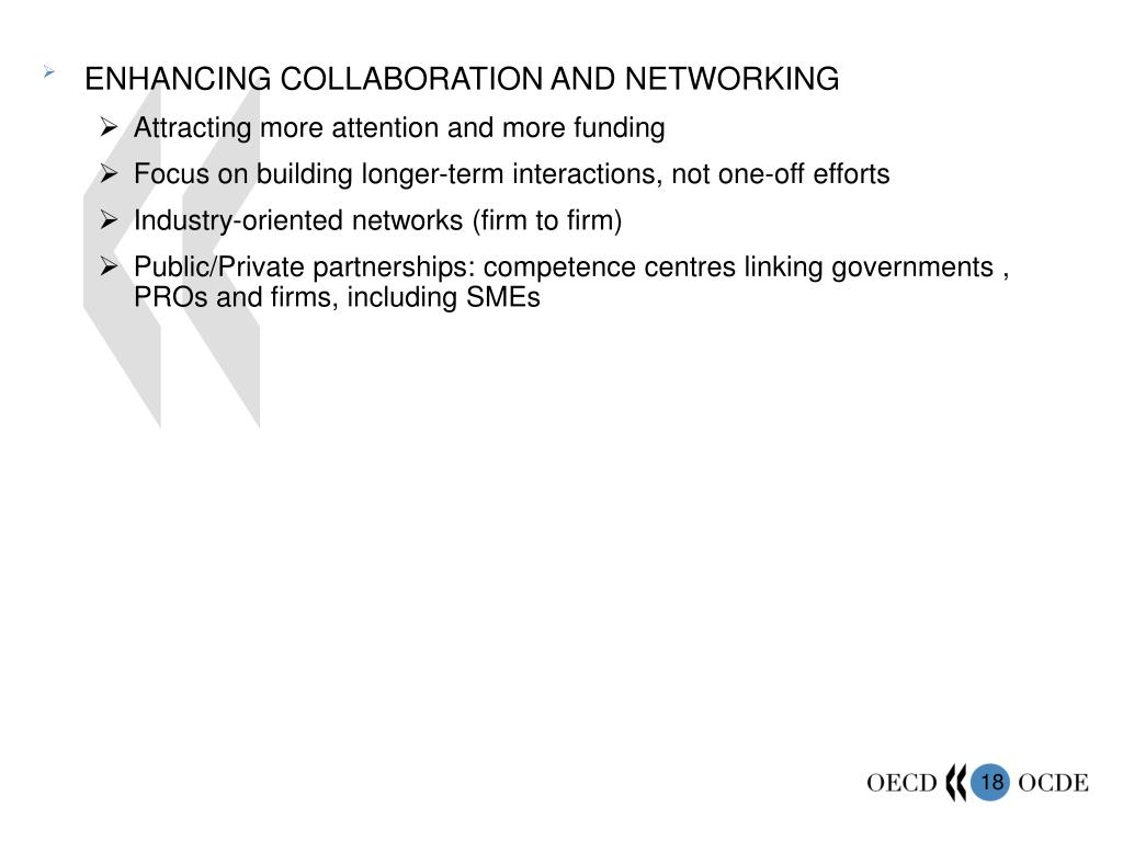 ENHANCING COLLABORATION AND NETWORKING