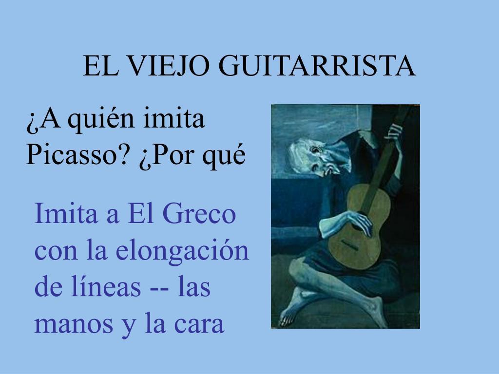 EL VIEJO GUITARRISTA