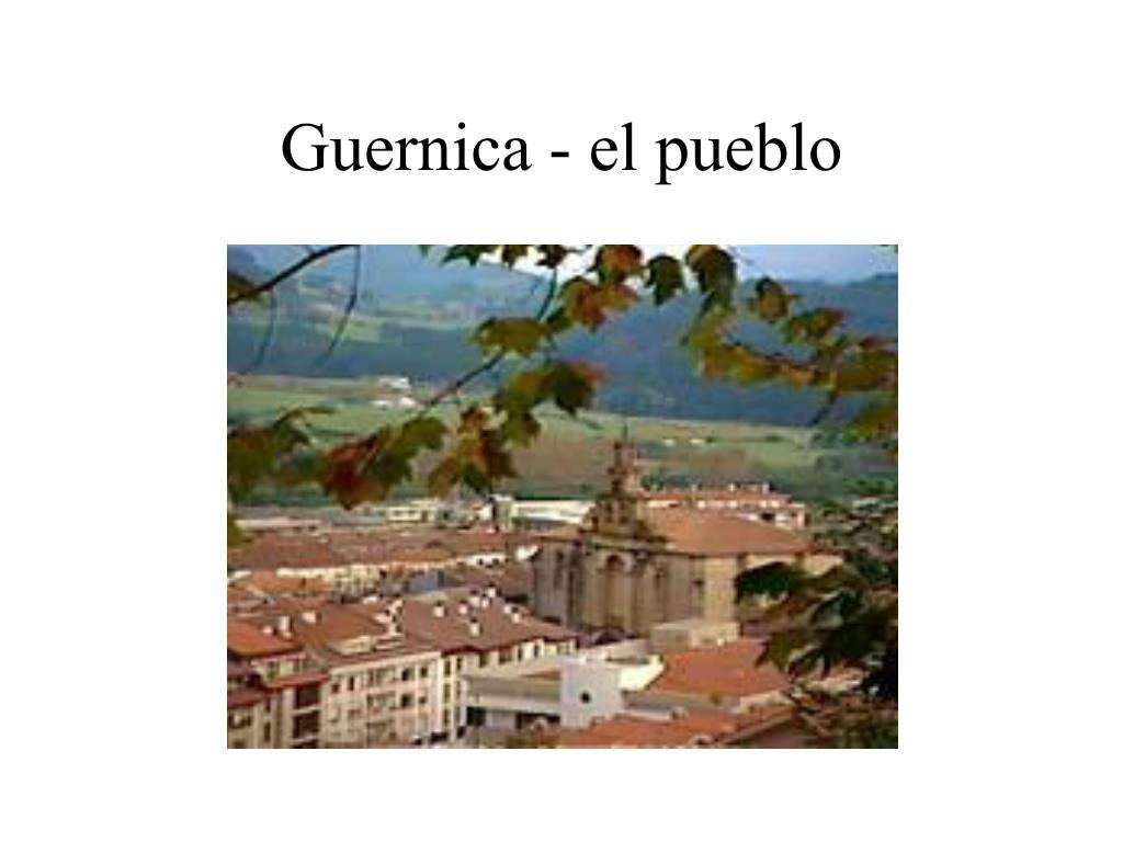 Guernica - el pueblo