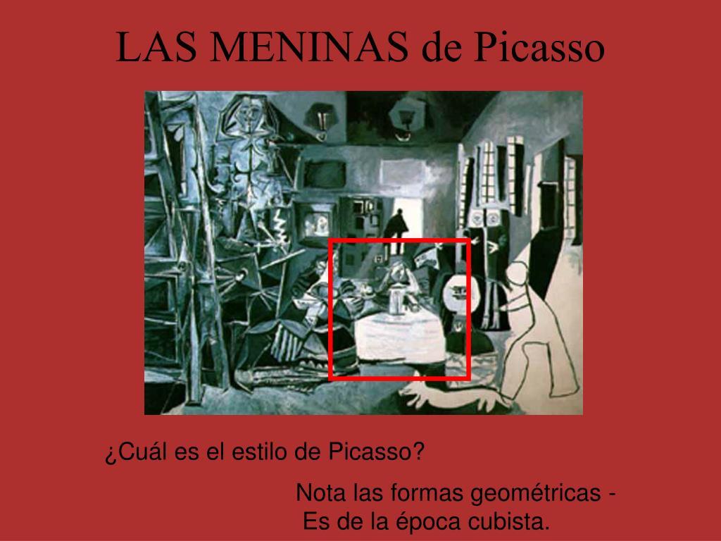 LAS MENINAS de Picasso