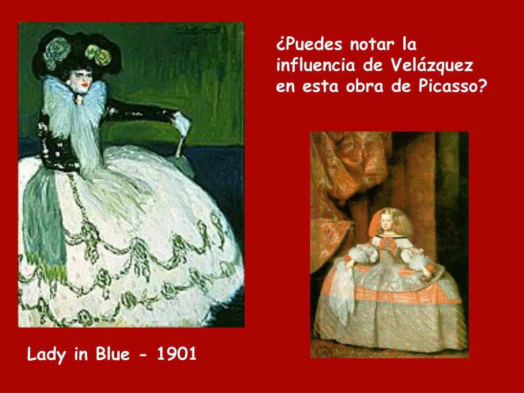 ¿Puedes notar la influencia de Velázquez en esta obra de Picasso?
