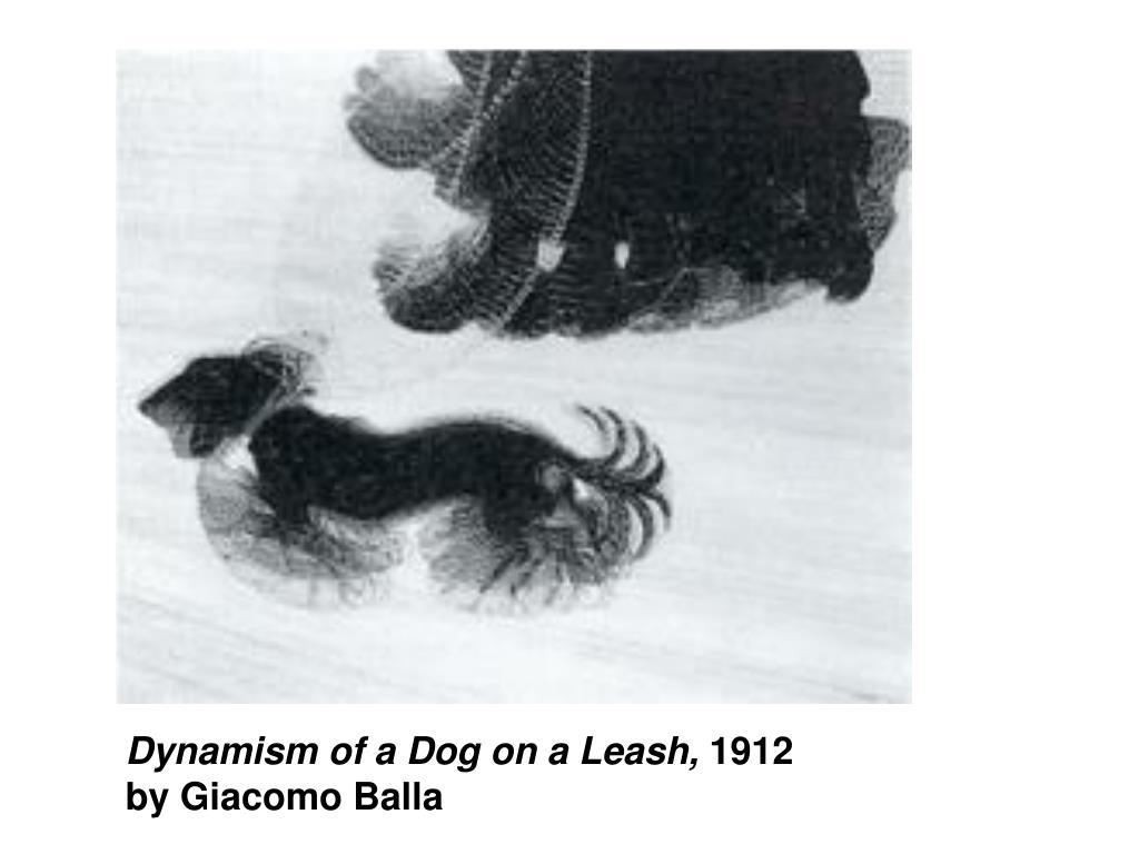 Dynamism of a Dog on a Leash,