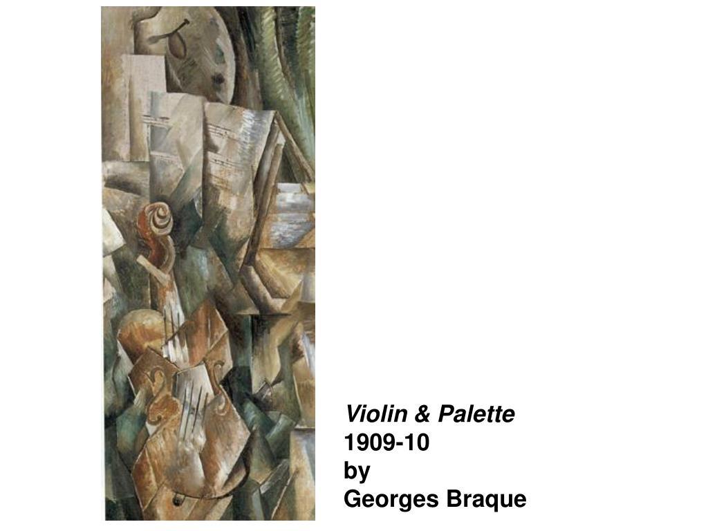 Violin & Palette