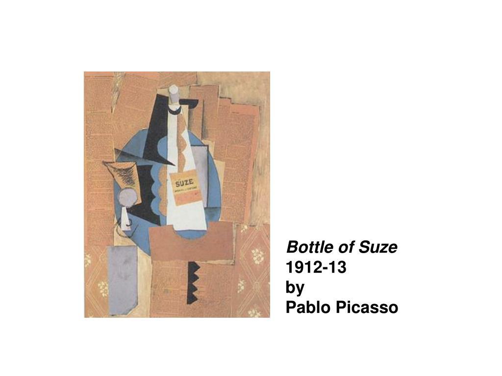 Bottle of Suze