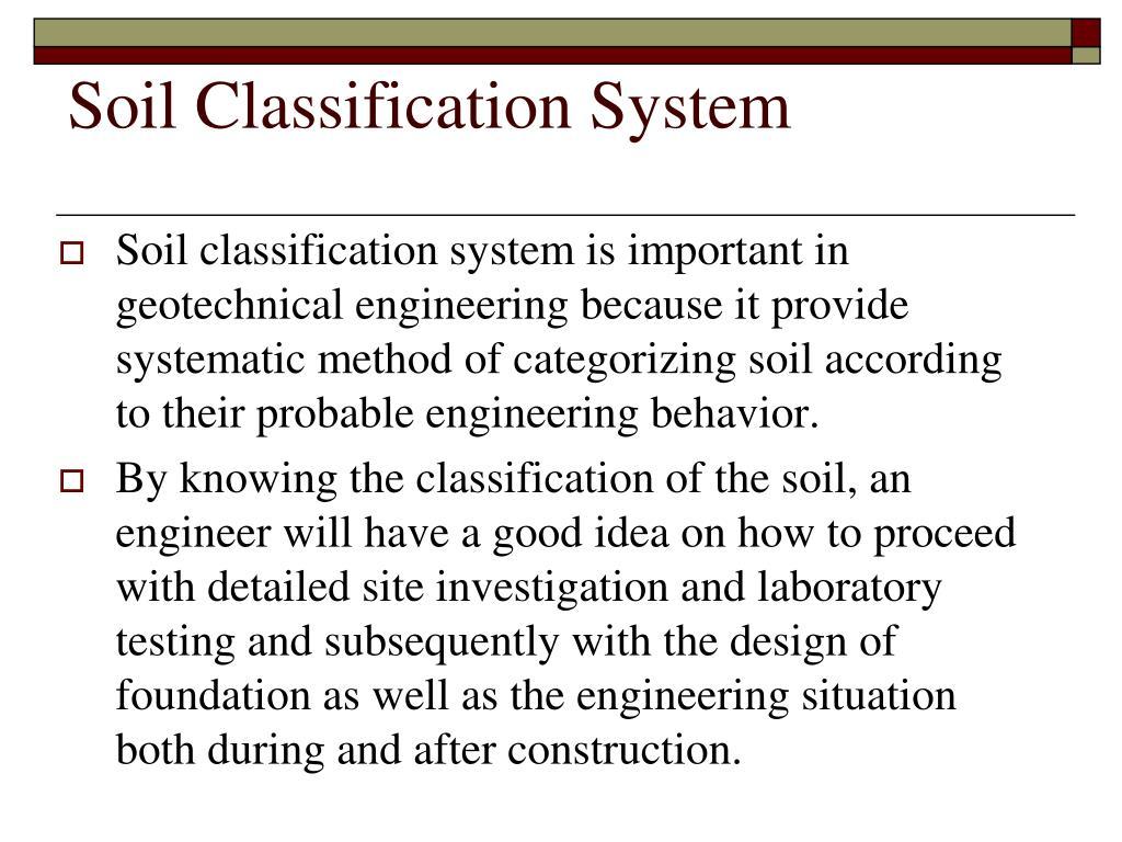 Ppt soil classification powerpoint presentation id 231548 for Soil classification