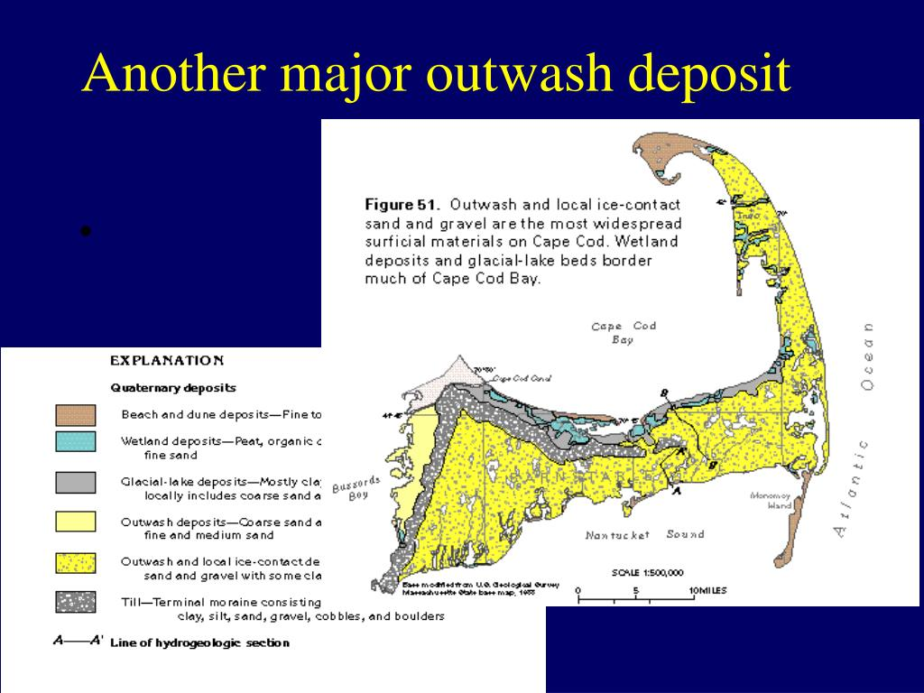 Another major outwash deposit