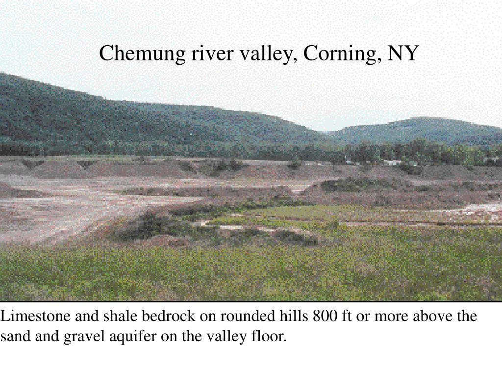 Chemung river valley, Corning, NY