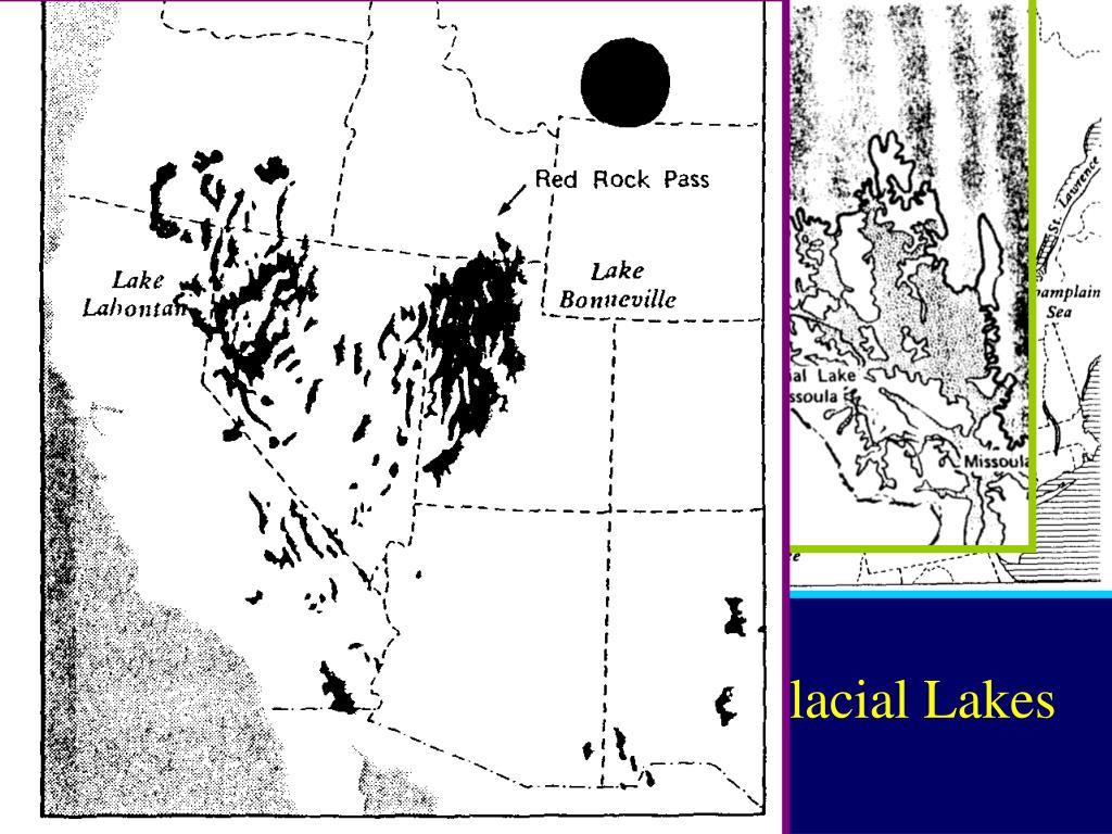 Large Glacial Lakes