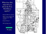 what does this map tell you about the fox wolf river aquifer