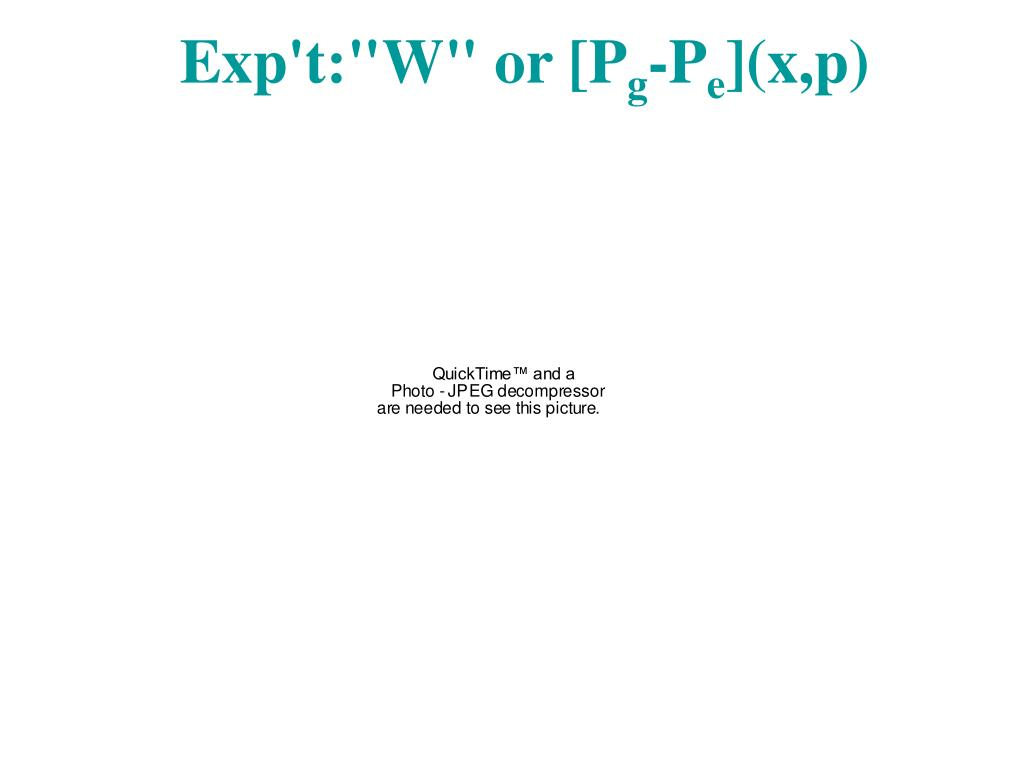 """Exp't:""""W"""" or [P"""