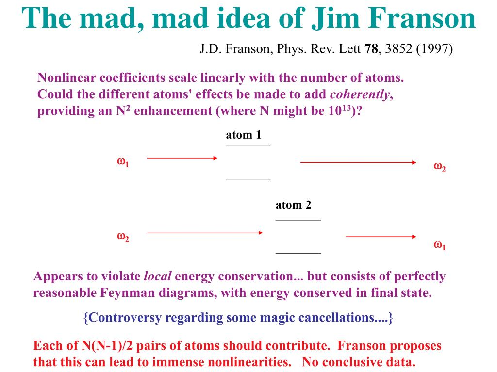 The mad, mad idea of Jim Franson