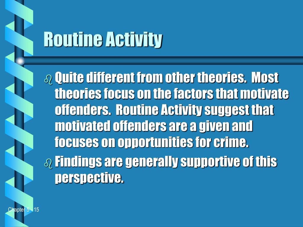 Routine Activity
