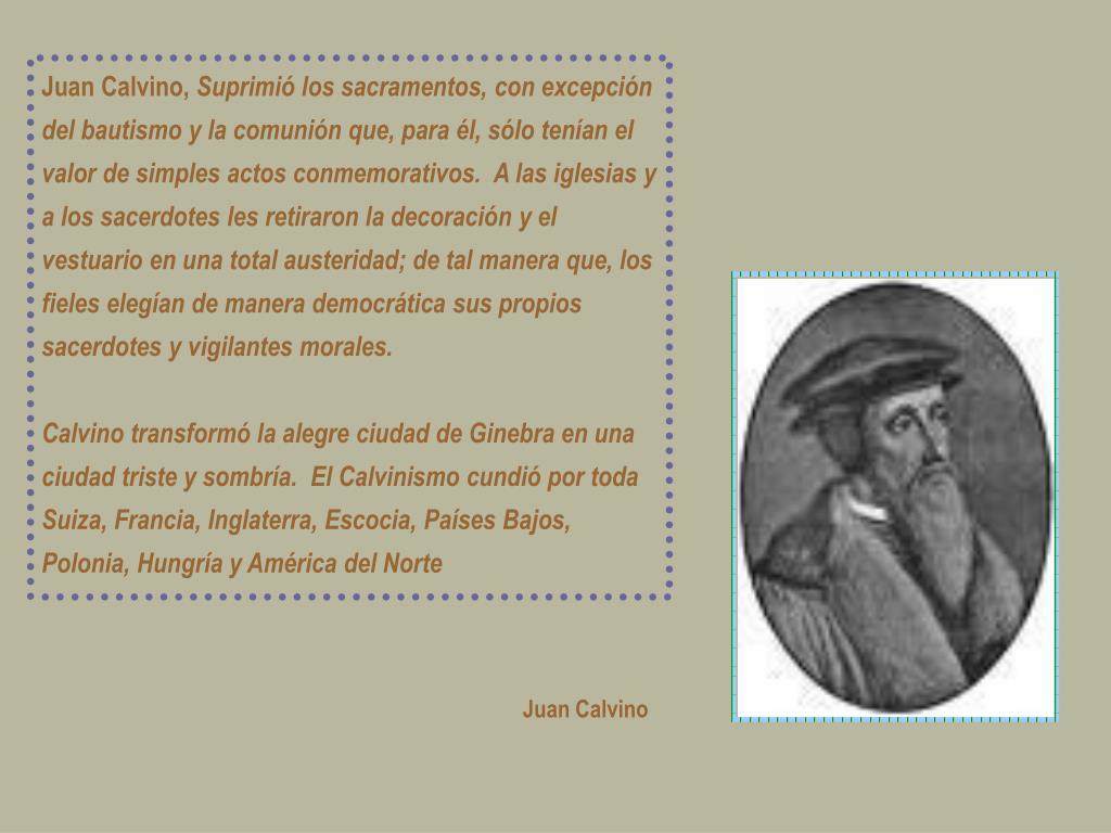 Juan Calvino,
