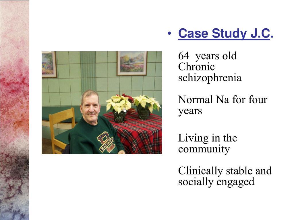 Case Study J.C
