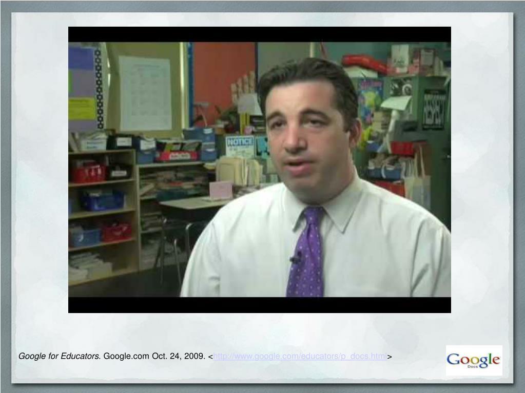 Google for Educators