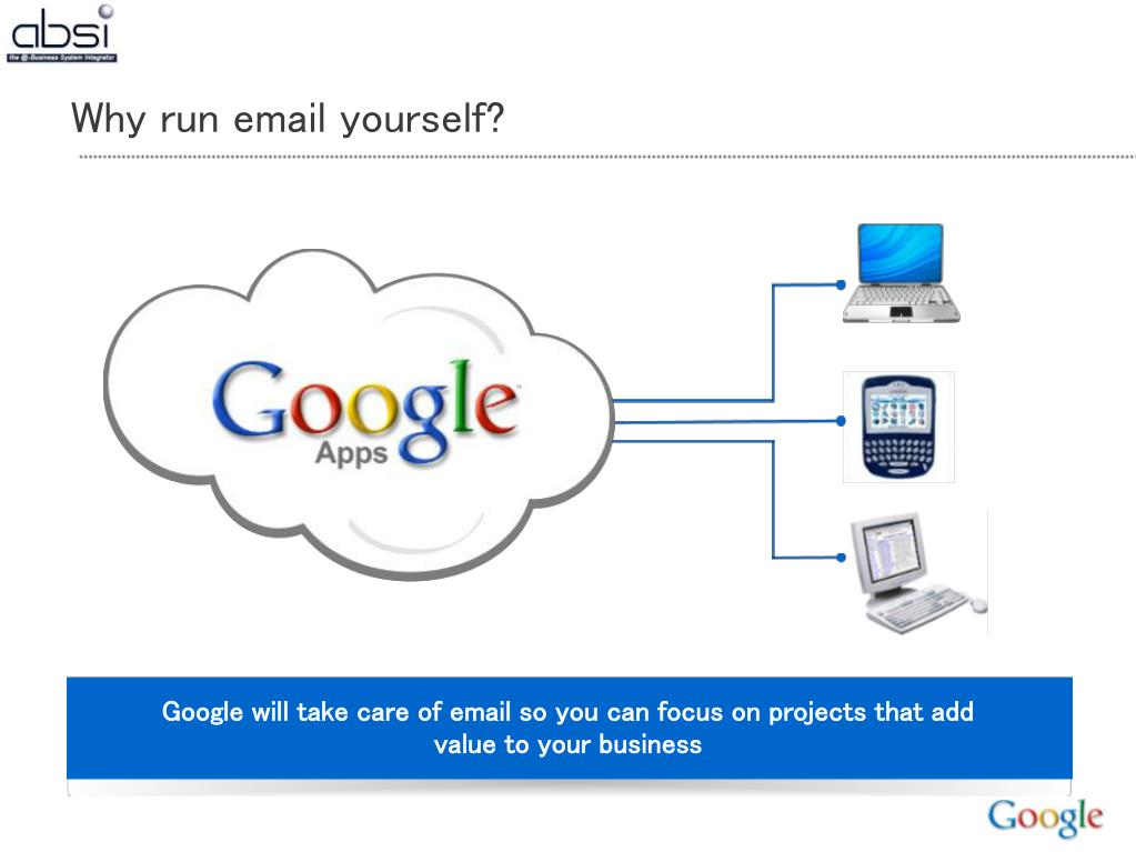 Why run email yourself?