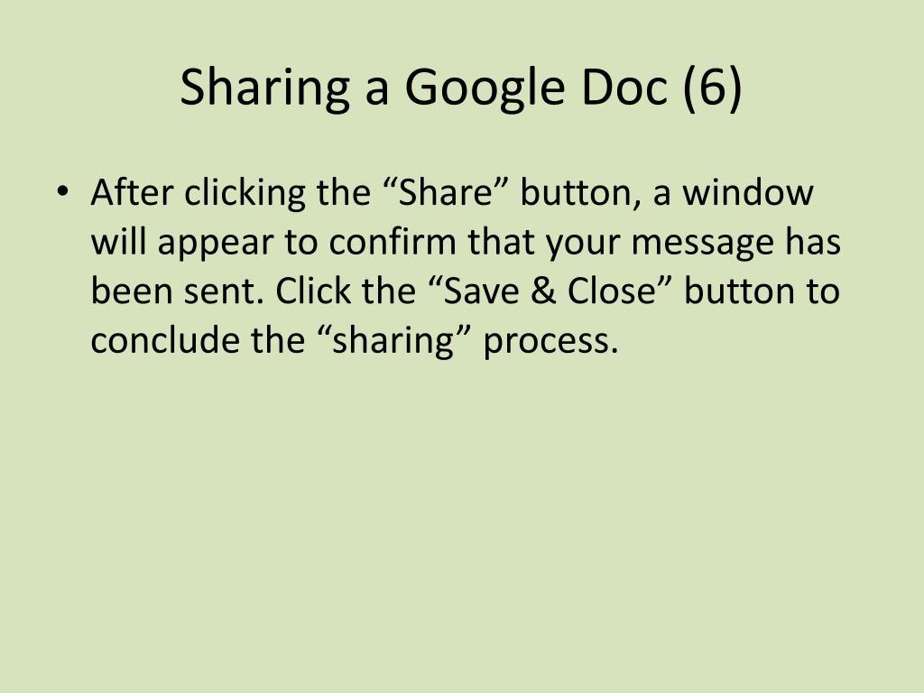 Sharing a Google Doc (6)
