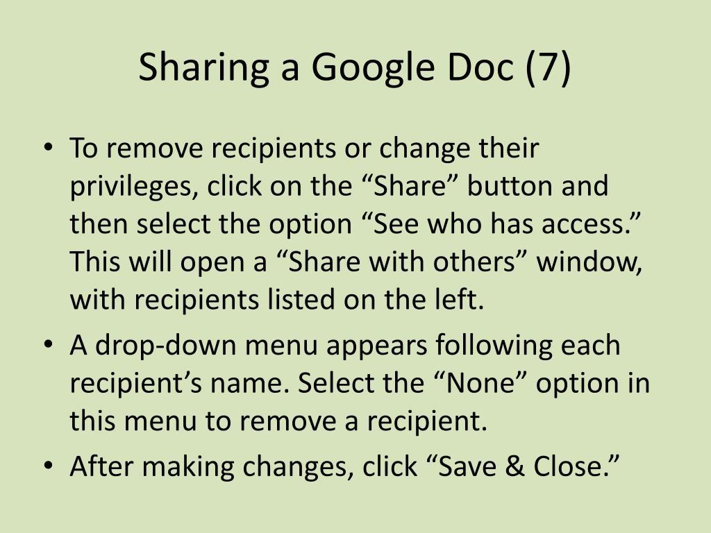 Sharing a Google Doc (7)