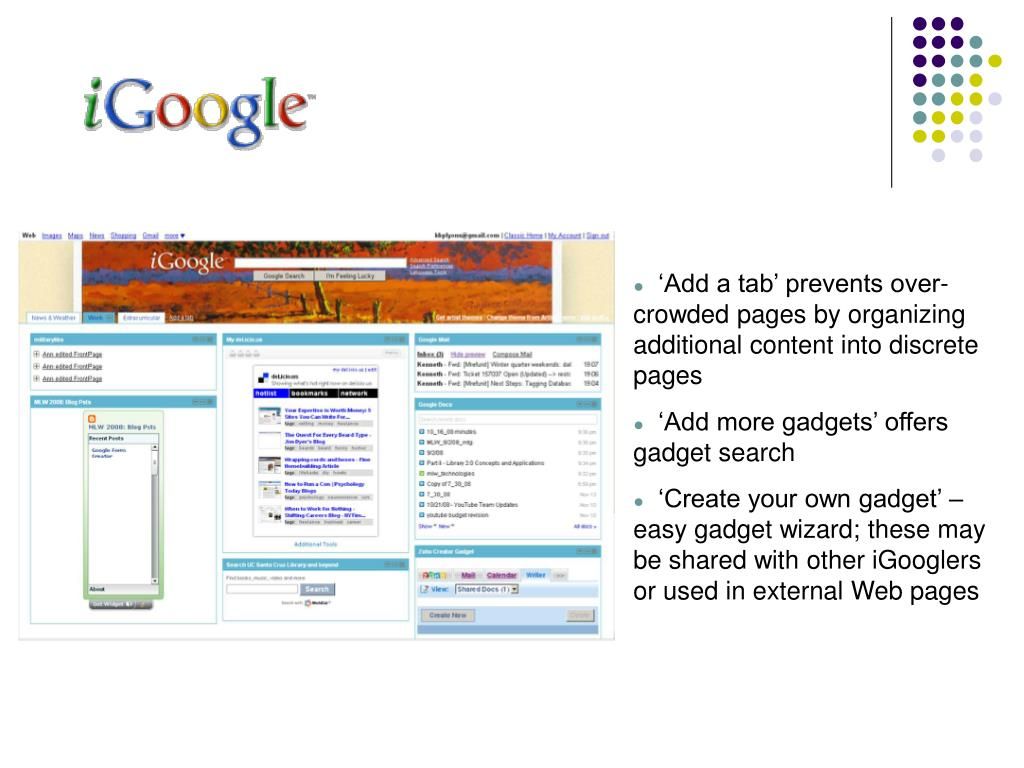 'Add a tab' prevents over-crowded pages by organizing additional content into discrete pages