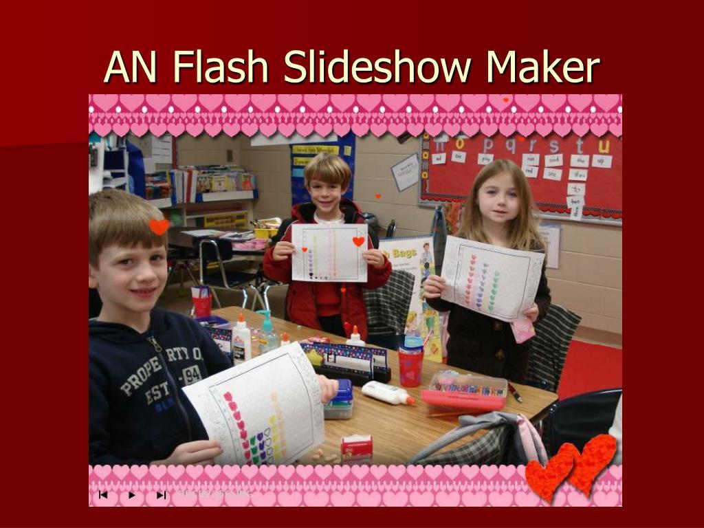AN Flash Slideshow Maker