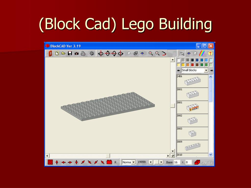 (Block Cad) Lego Building