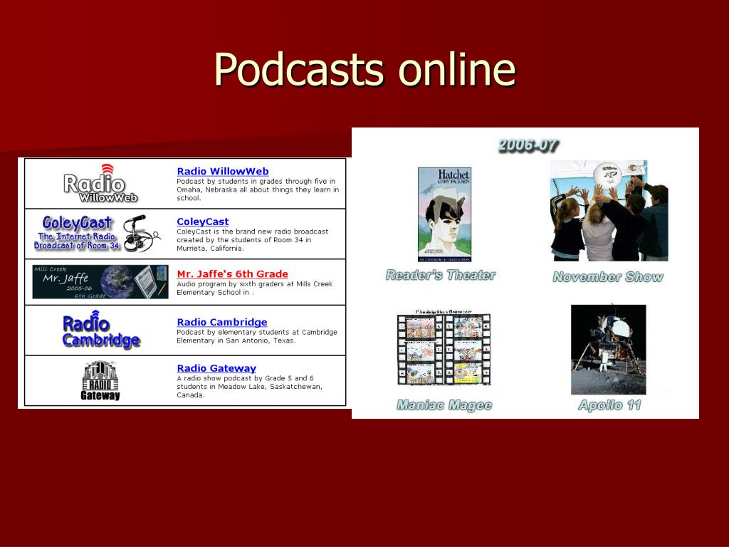 Podcasts online
