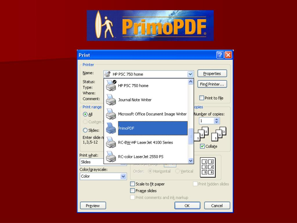 Primo PDF
