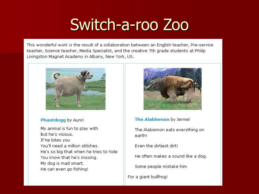 Switch-a-roo Zoo