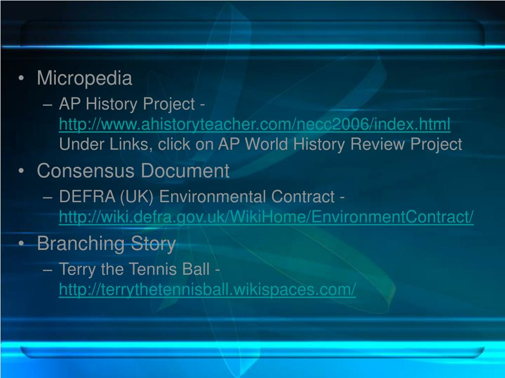 Micropedia