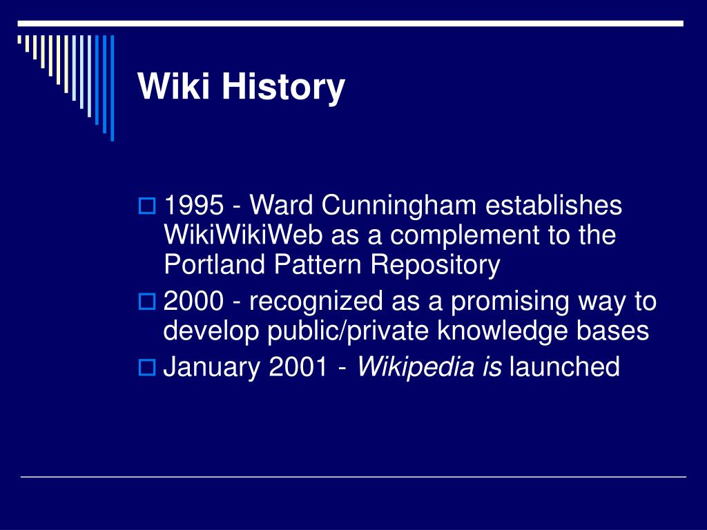 Wiki History