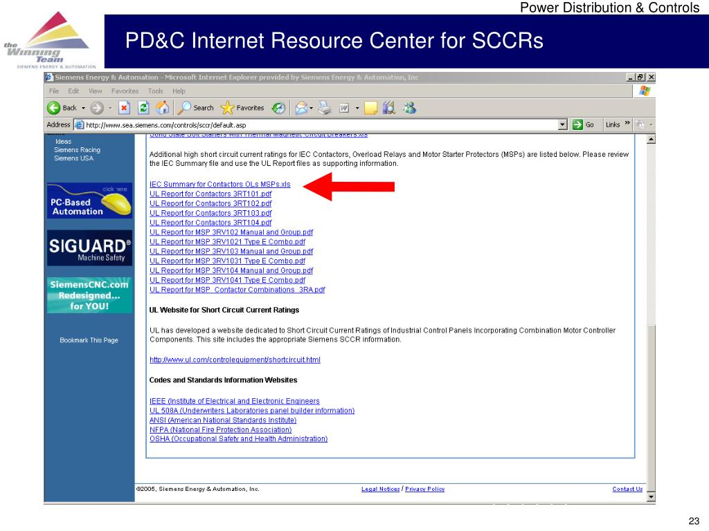 PD&C Internet Resource Center for SCCRs