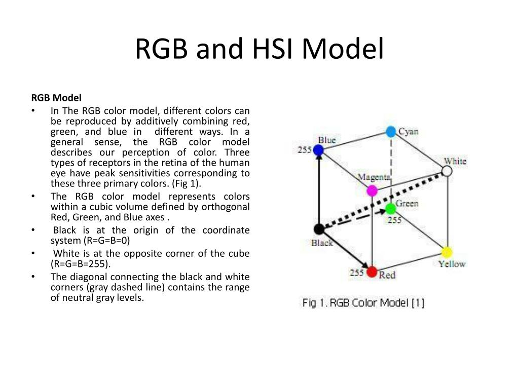 RGB and HSI Model