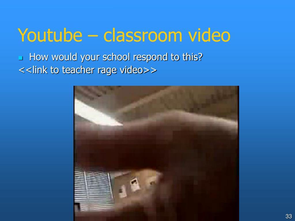 Youtube – classroom video