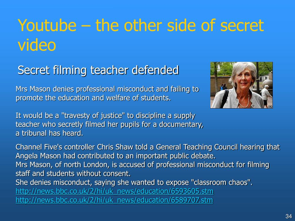Youtube – the other side of secret video