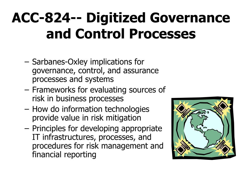 ACC-824-- Digitized Governance and Control Processes
