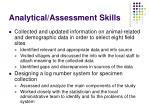 analytical assessment skills