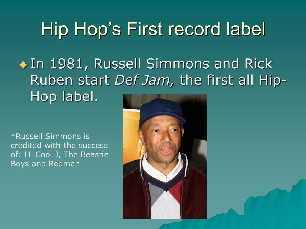 Hip Hop's First record label