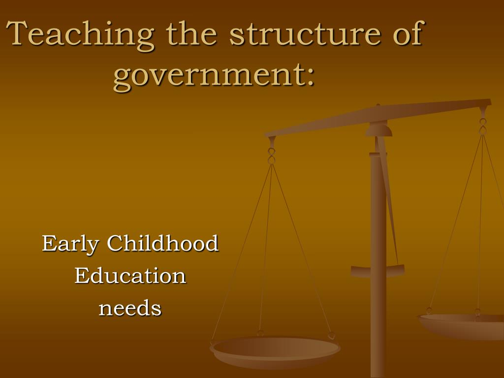 Teaching the structure of government: