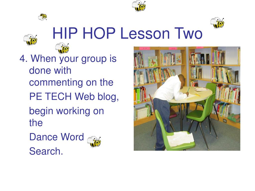 HIP HOP Lesson Two