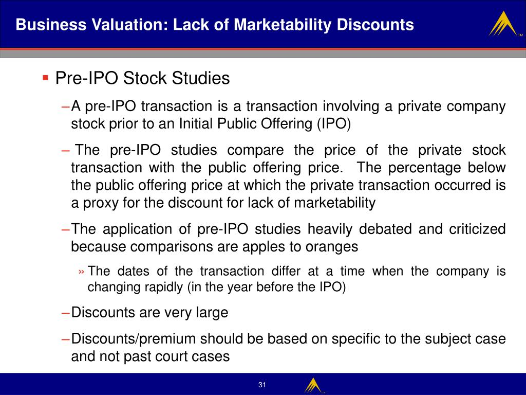 Private company valuation stock options