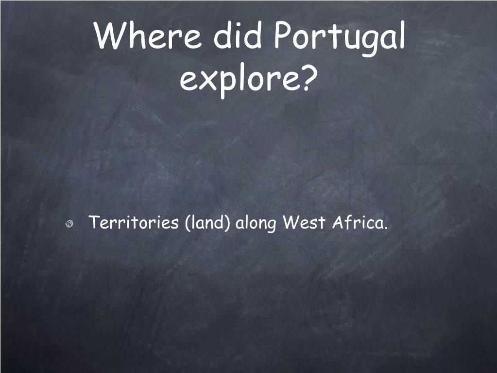 Where did Portugal explore?