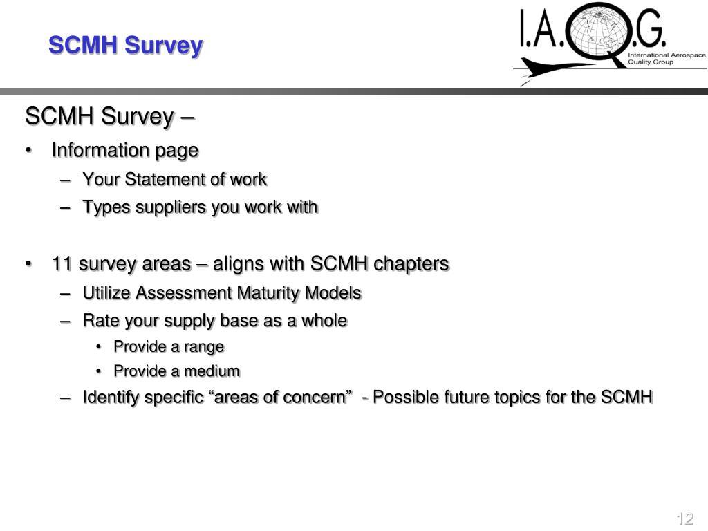 SCMH Survey