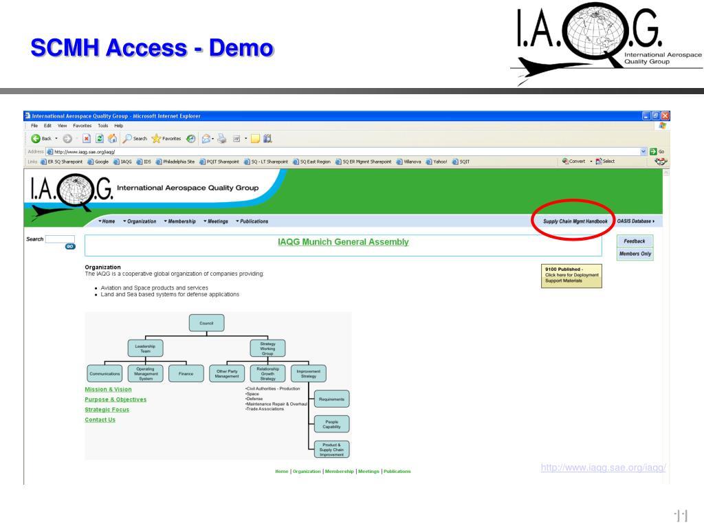 SCMH Access - Demo