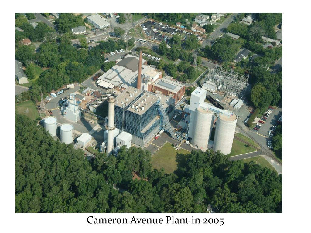 Cameron Avenue Plant in 2005