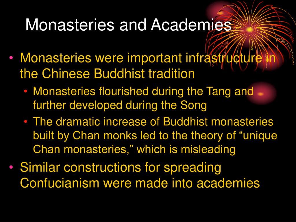 Monasteries and Academies