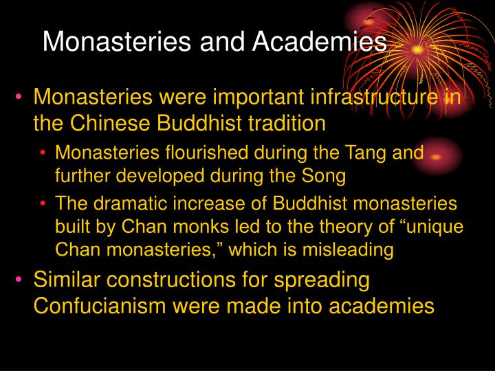 Monasteries and academies l.jpg
