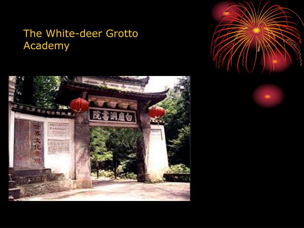 The White-deer Grotto Academy