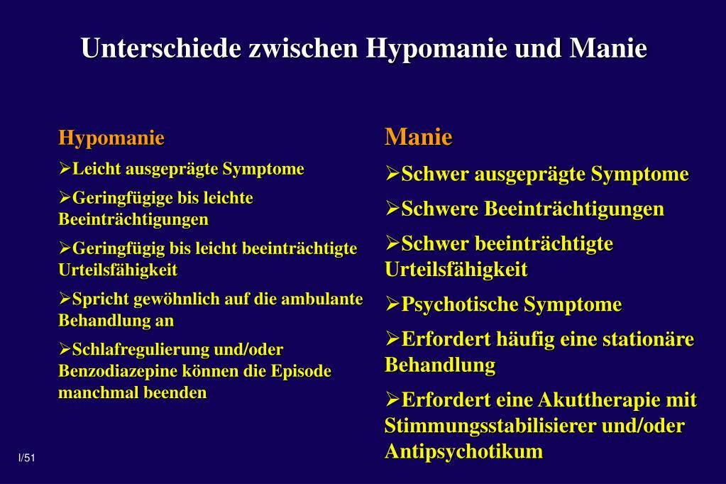 Hypomanie