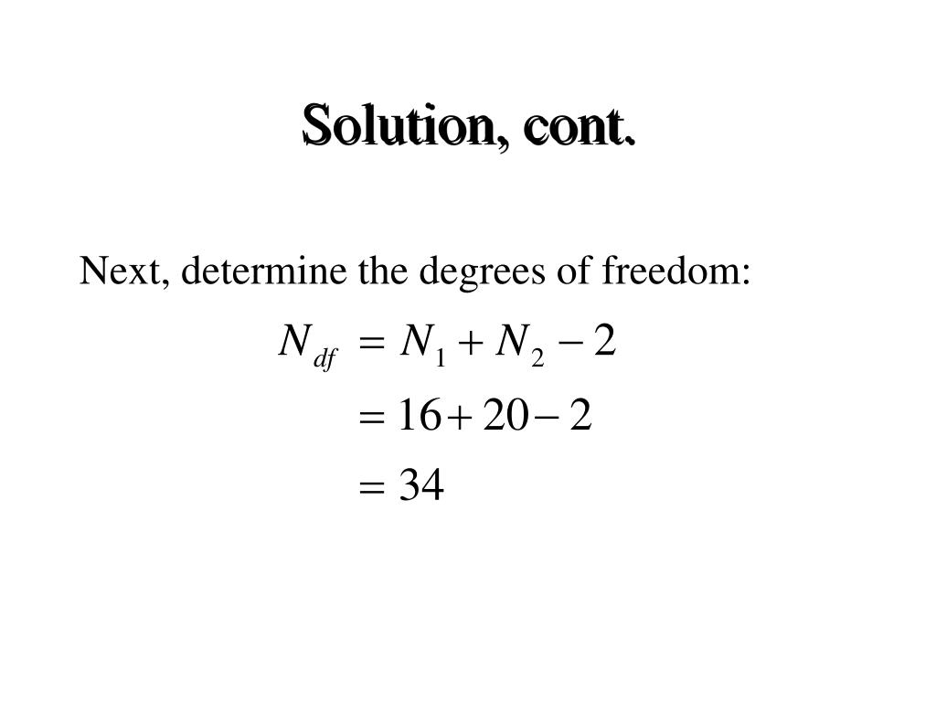 Solution, cont.